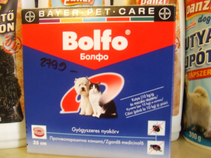 Bolfo 38 cm (Bolha, Kullancs ellen)