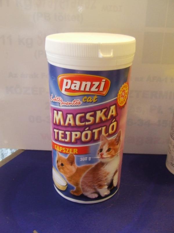 Panzi tejpor cicáknak