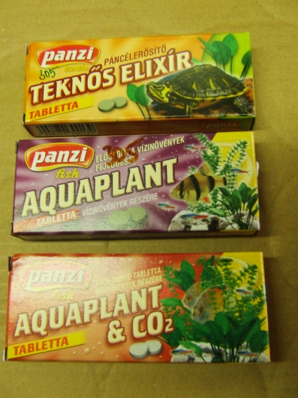 Aquaplant + CO2 tabletta