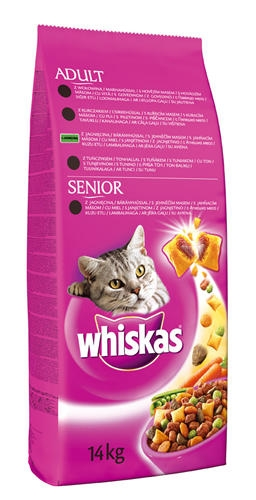 Whiskas Adult 14 kg Hal ízben