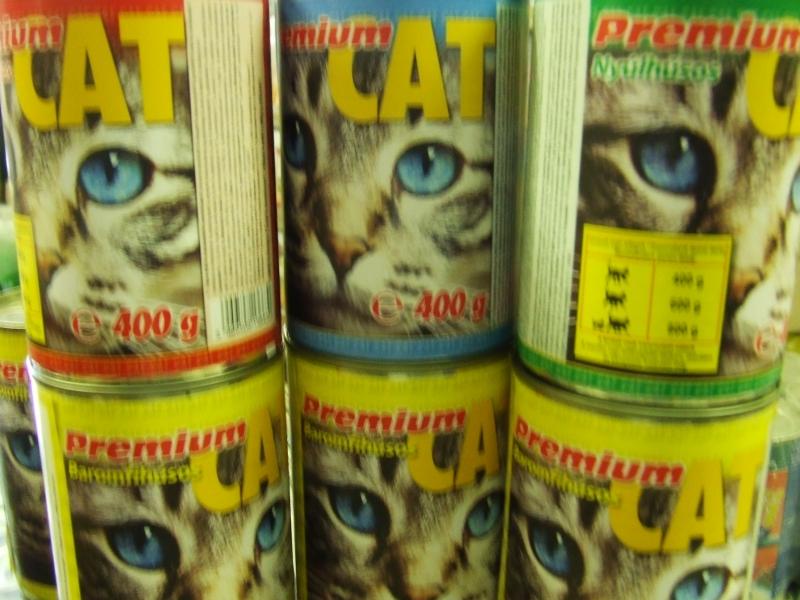 Premium Cat 400 g Nyúl ízben