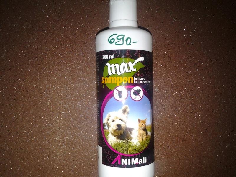 Max(Dr Pet)  bolha, kullancs riasztó sampon