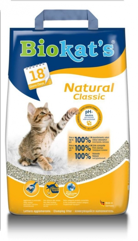 BioCats Natural Classic 10 kg