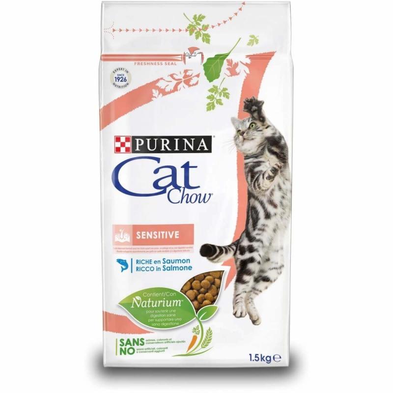 Cat Chow sensitive saját kiszerelés 1 kg