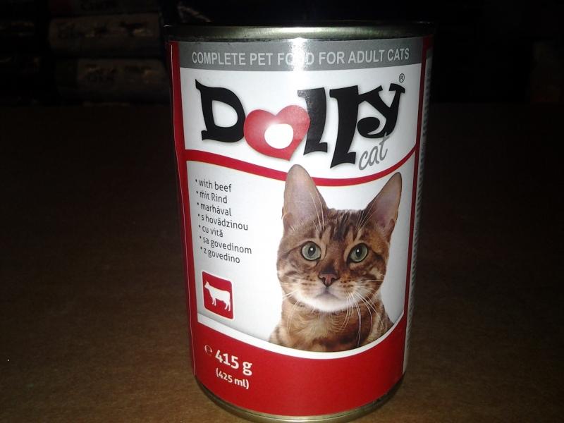Dolly Cat Cica Konzerv Marha 415gr