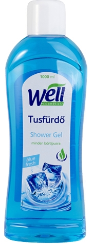 Well tusfürdő blue fresh 1000ml