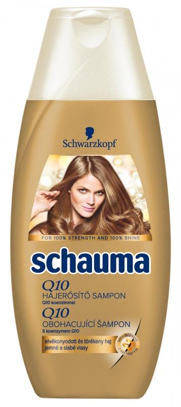 Schauma Q10 hajerősítő sampon 250 ml