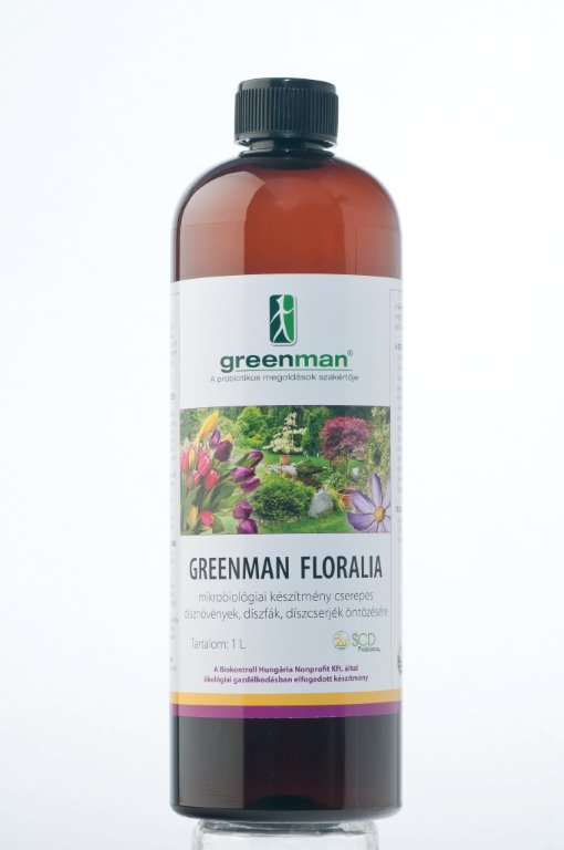 Greenman Floralia 1L BIO permetezőszer