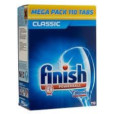 Finish tabletta mosogató gépbe 100 db
