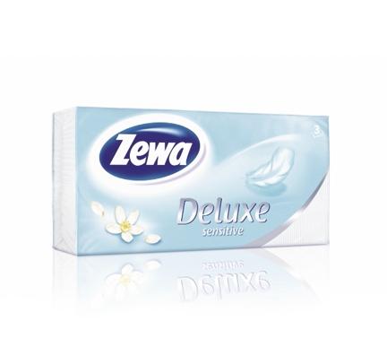 Zewa Deluxe papír zsebkendő Sensitive