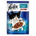 Felix alutasakos macskaeledel, Halas ízesítéssel 100g.