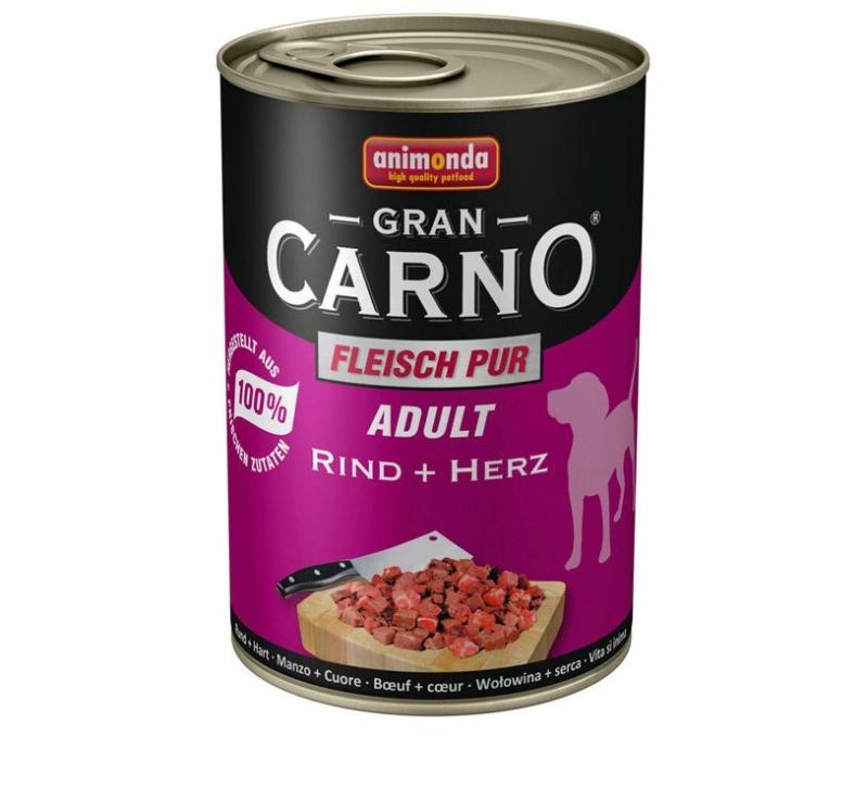 Animonda Gran Carno 400g Marha - Szív ízben