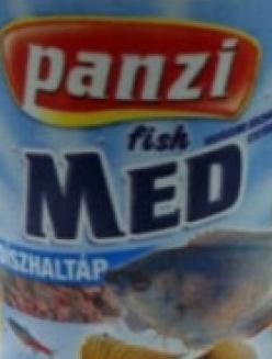 Panzi MED Díszhaltáp 120 ml