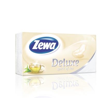 Zewa Deluxe papír zsebkendő Spirit of Tea