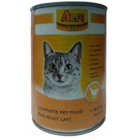 Alfi Cat  Csirke ízben 415 g