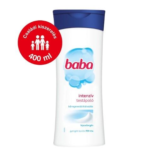 Baba testápoló 400 ml Száraz bőrre