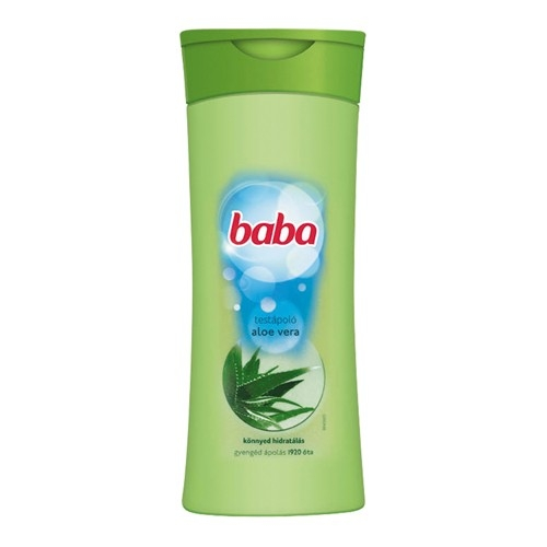 Baba testápoló 400 ml Aloe Vera