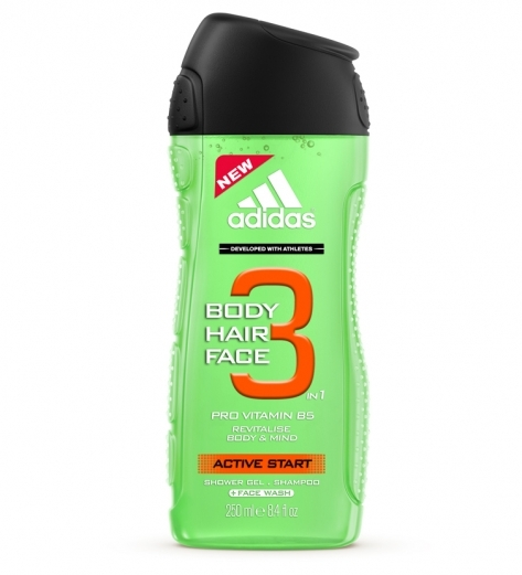 Adidas Active Start tusfürdő 250 ml