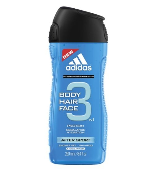 Adidas After Sport tusfürdő 250 ml