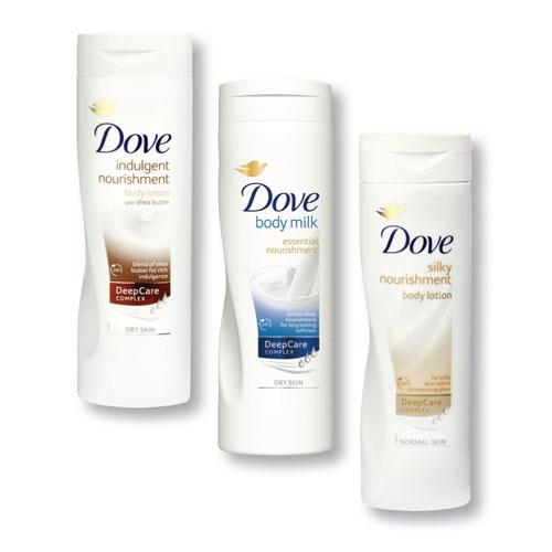 Dove testápoló (több illatt) 400ml