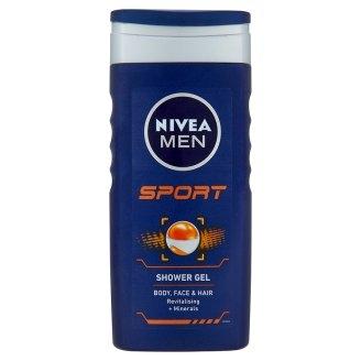 Nivea férfi tusfürdő sport