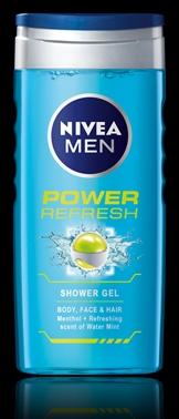 Nivea férfi tusfürdő power refresh tusfürdő 250ml