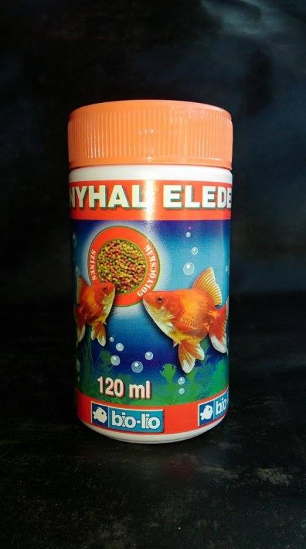 Bio-Lio aranyhaltáp 120ml