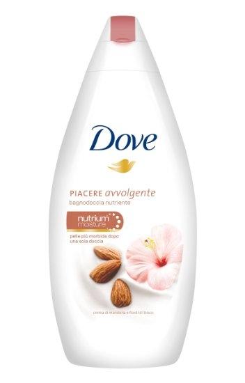 Dove mandulakrém és hibiszkusz krémtusfürdő 750ml
