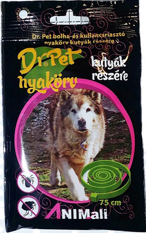 Dr Pet bolha,kullancs  riasztó nyakörv kutyának