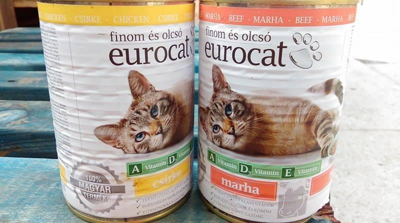 Euro cat 415 g marhás