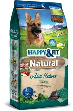 Happy & Fit Natural Adult Balance kutyatáp 12kg