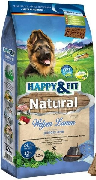 Happy & Fit Natural Welpen Lamm kutyatáp