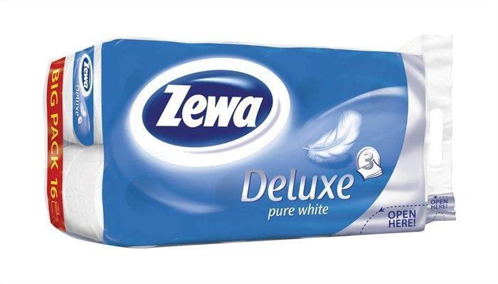 Zewa WC papír 16 db-os Pure White