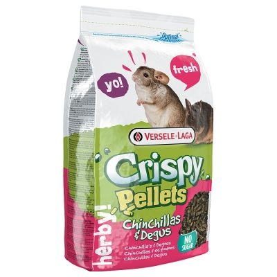 Chinchilla &Degu Crispy Pellets 1kg