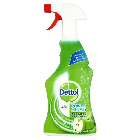 Dettol spray multi tisztító zöld almás 1L