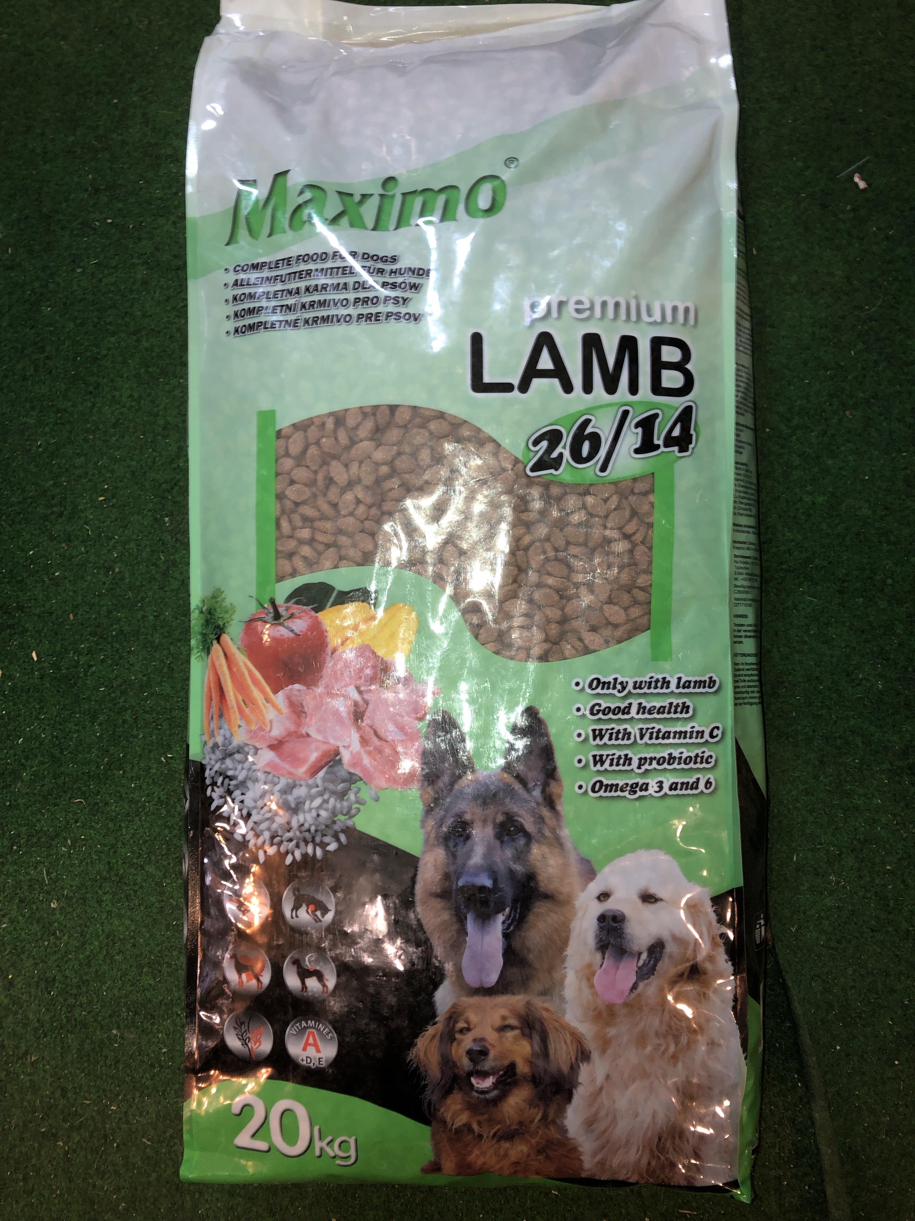 MAXIMO LAMB AND RICE Premium Line