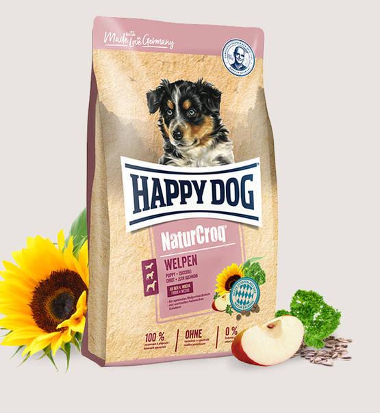 Happy Dog Natur Croq für Welpen  15 kg