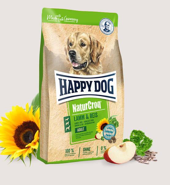 Happy Dog Natur Croq Lamm/Reis  15 kg