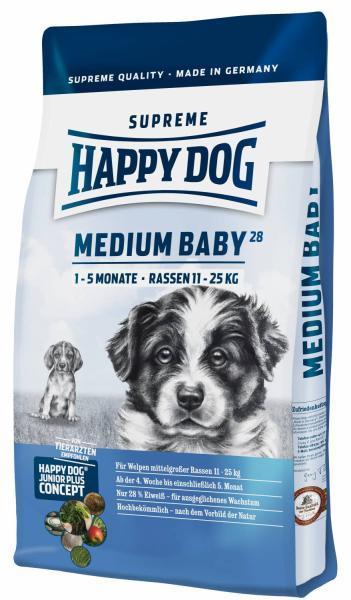 Happy Dog Supreme Medium Baby 28  4 kg
