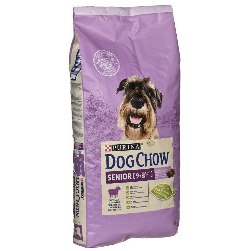 Dog Chow 3 kg  senior SAJÁT kiszerelés