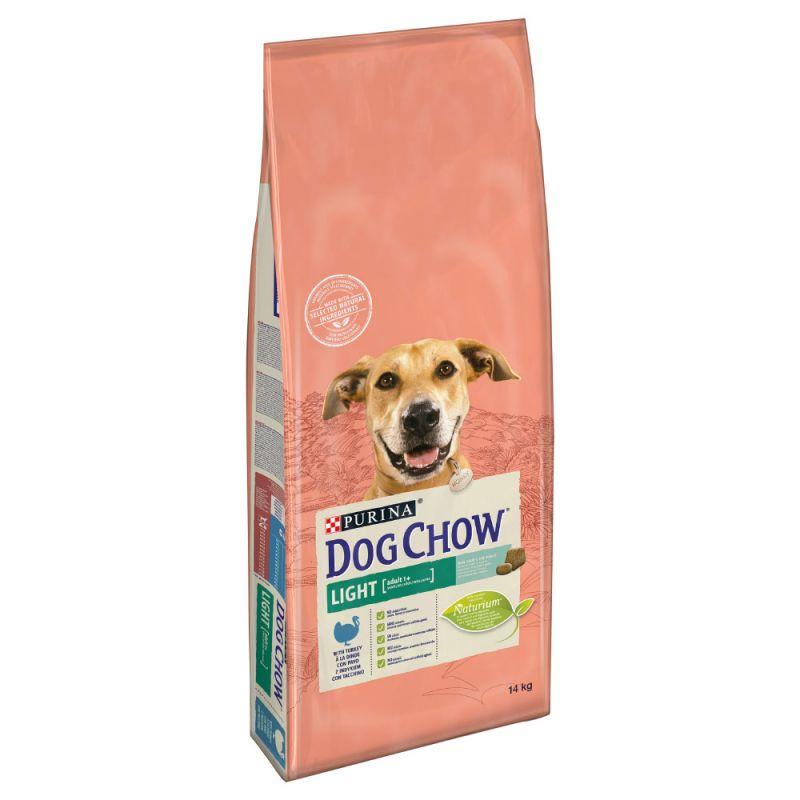 Dog Chow Light pulykás 2,5 kg