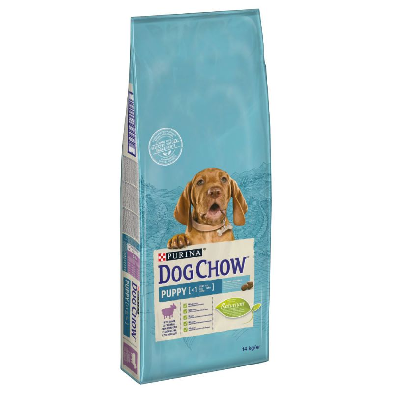 Dog Chow Junior Bárány-Rizs 14 kg