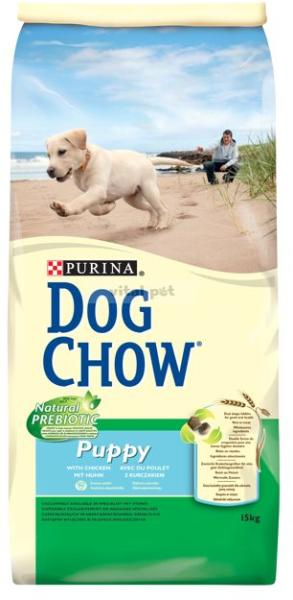 Dog Chow Junior Csirke-Rizs 14 kg