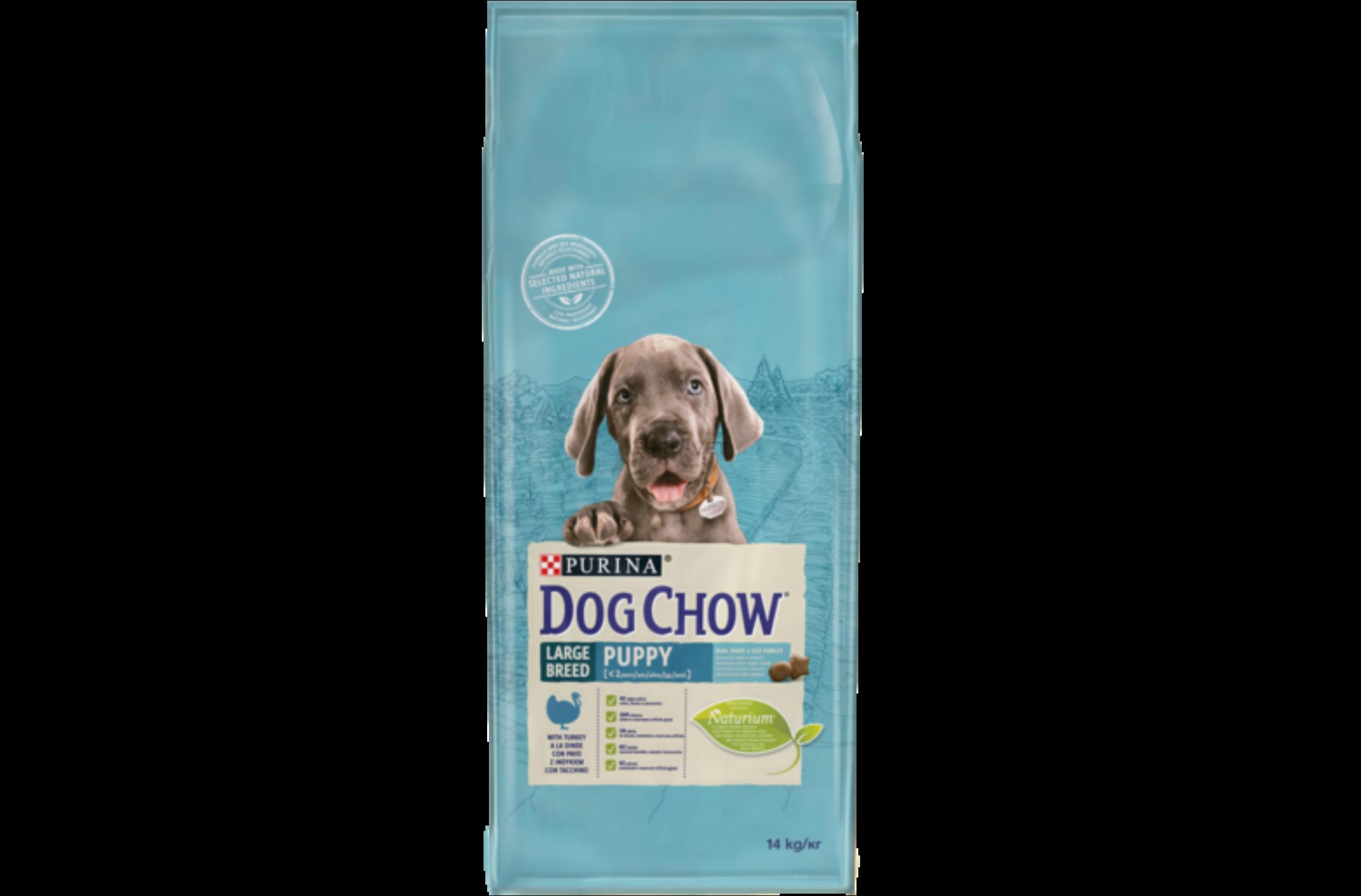 Dog Chow Junior Nagytestű 14 kg