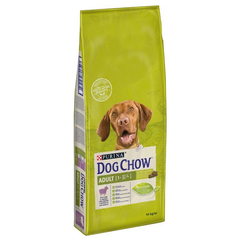 Dog Chow Adult Bárány-Rizs 2,5kg