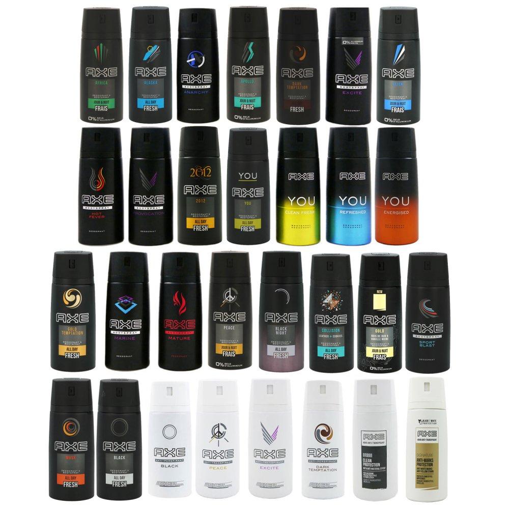 Axe dezodor, többféle illatban