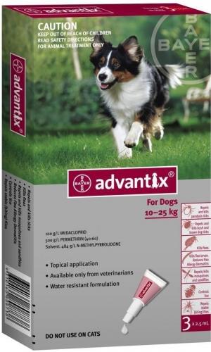 Advantix Spot On 10-25kg között 1db