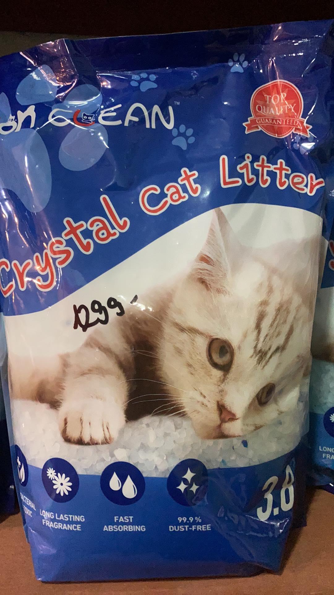 Crystal Cat szilikonos alom