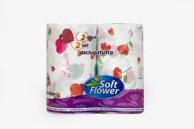 Soft Flower kéztörlő 2x 150 lap