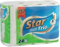 Star Trió wc papír 24-es